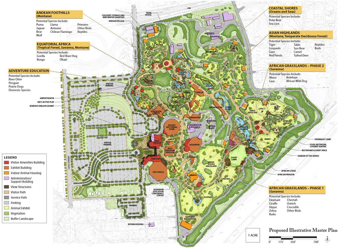 Map of the henry doorly zoo in omaha ne best image konpax 2017 omaha s henry doorly zoo and aquarium page 10 forums publicscrutiny Gallery